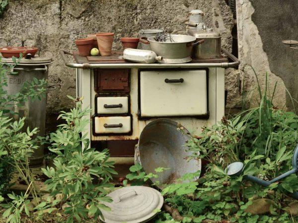Alte Küche im Garten