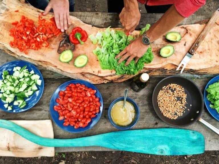 Outdoor kochen