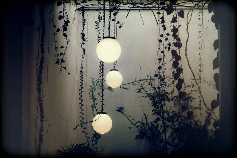 Kugelleuchte Garten-2